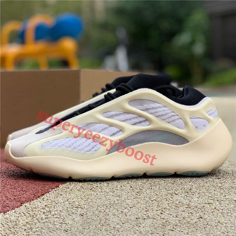 New Azareth kanye west 700 V3 running shoes Azael alvah OG srphym reflective mens Sneakers women trainers with box US 5-11