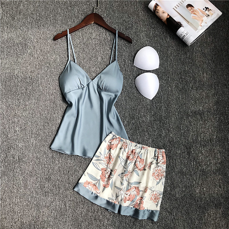 2 Pieces Greyblue