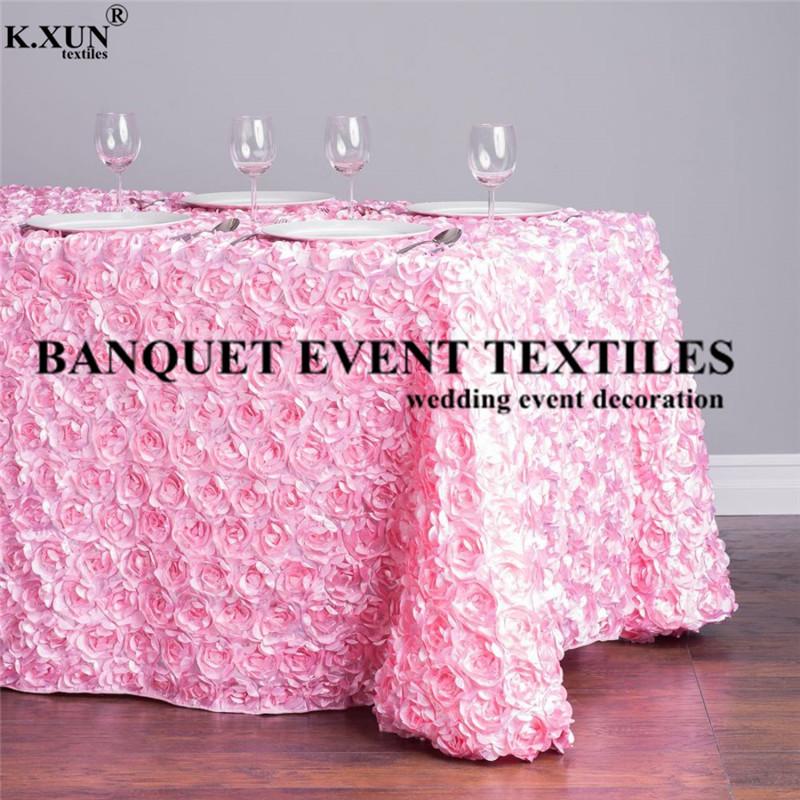 88130-060489-88-x-130-in.-Rectangular-Rosette-Satin-Tablecloth-Pink_main_1000x1000