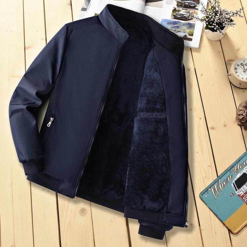 black thicken jacket