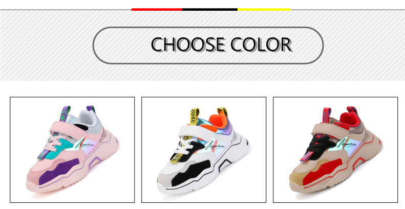 PINSEN 2020 Spring New Shoes Girls Sneaker Kids Shoes Fashion Breathable Casual Sports Running Shoes For Girl Brand Children Shoes (3)
