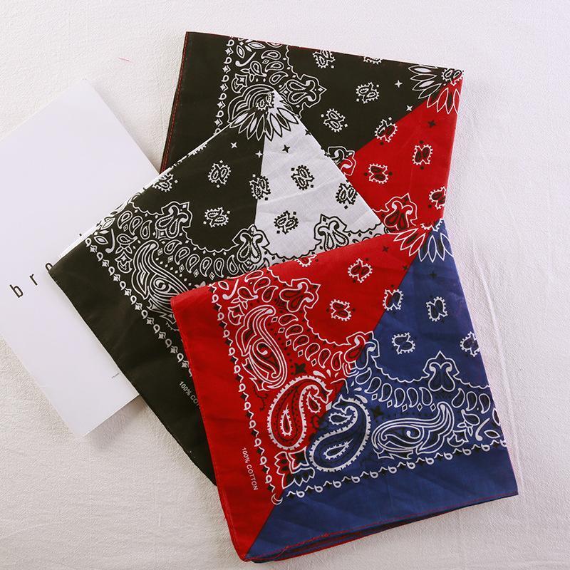 Bandana tessuto foulard Western Nero Choppers Inc fascia Tete