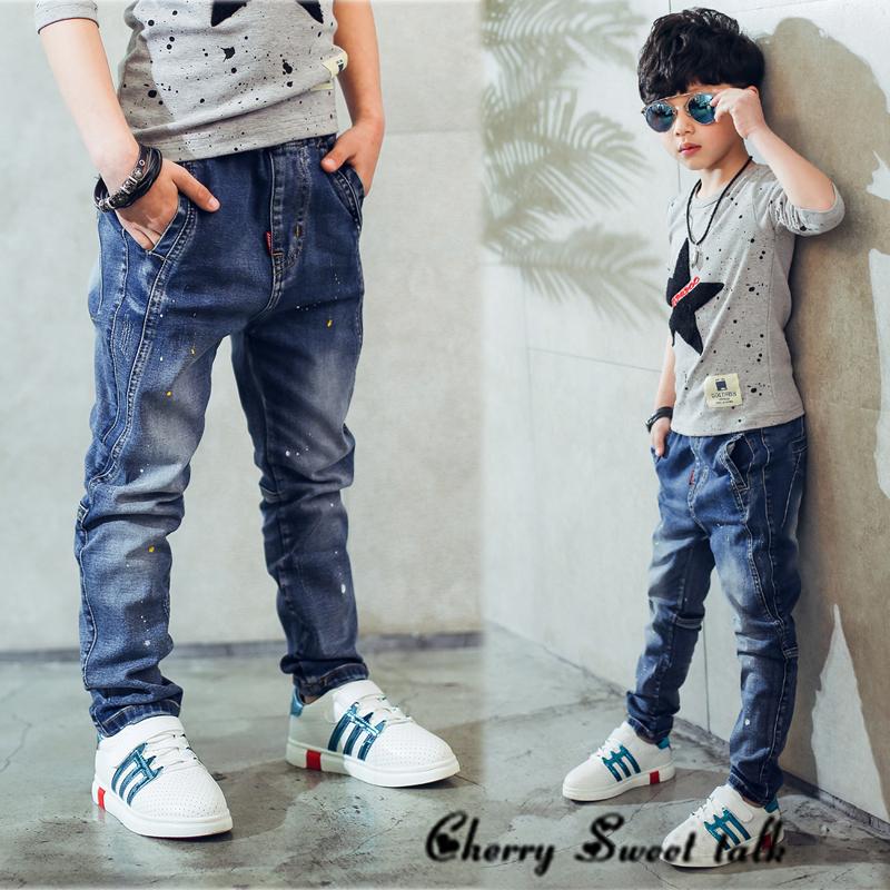 -children-s-clothing-boys-jeans-spring-and-autumn-splash-ink-children-pants (2)