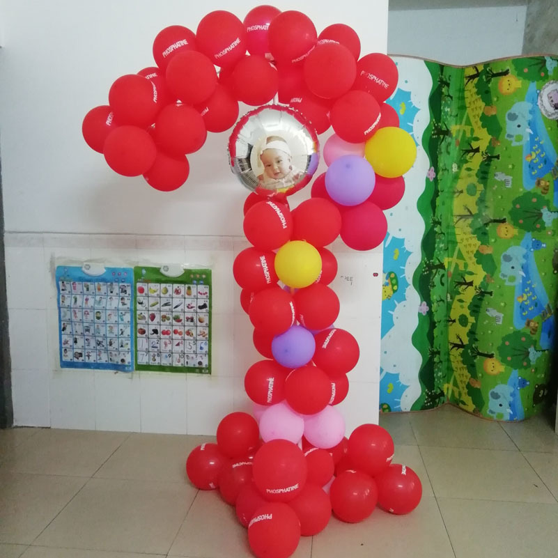 question mark balloon stand frame -4