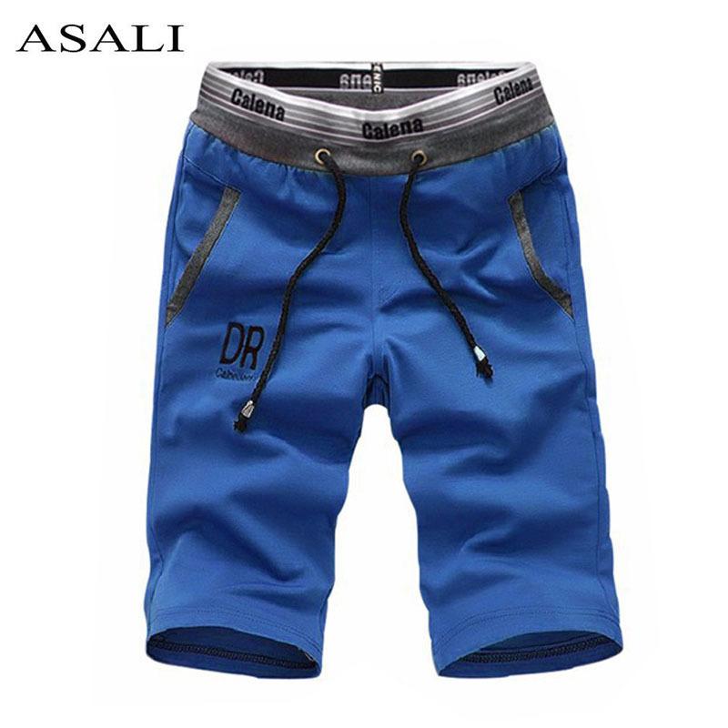 Men-s-Clothing-Product-Summer-Shorts-Bermuda-Masculina-Fit-Leisure-Cotton-Sportswear-Beach-Men-Shorts