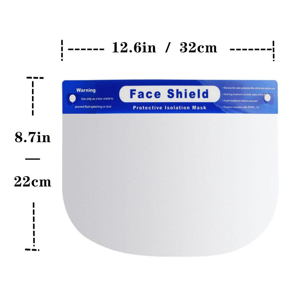Fashion Designer Masks New Face Shield Mask Anti Dust-Proof Kitchen Oil-Splash Proof Cooking Work Safety Face Shield Party Mask HH9-3193