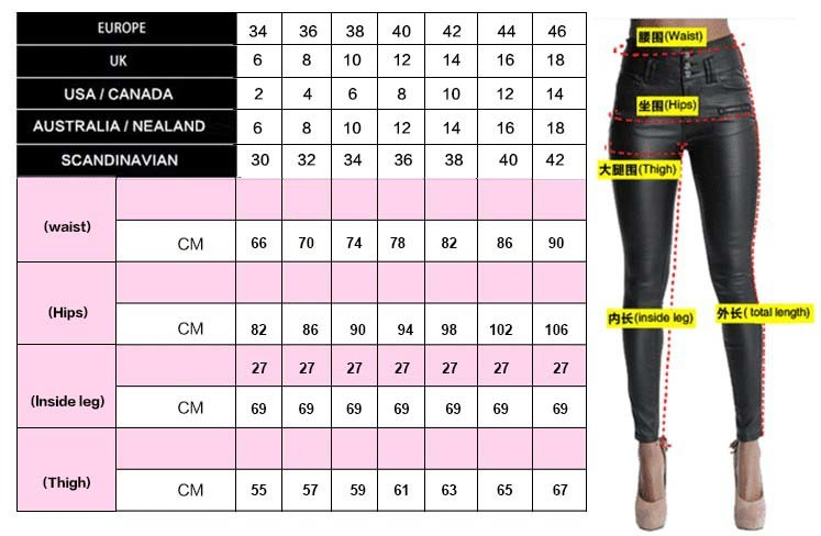 Tips Due to size system, model no. and measurement methods are different, there may be 1-3cm product size error.