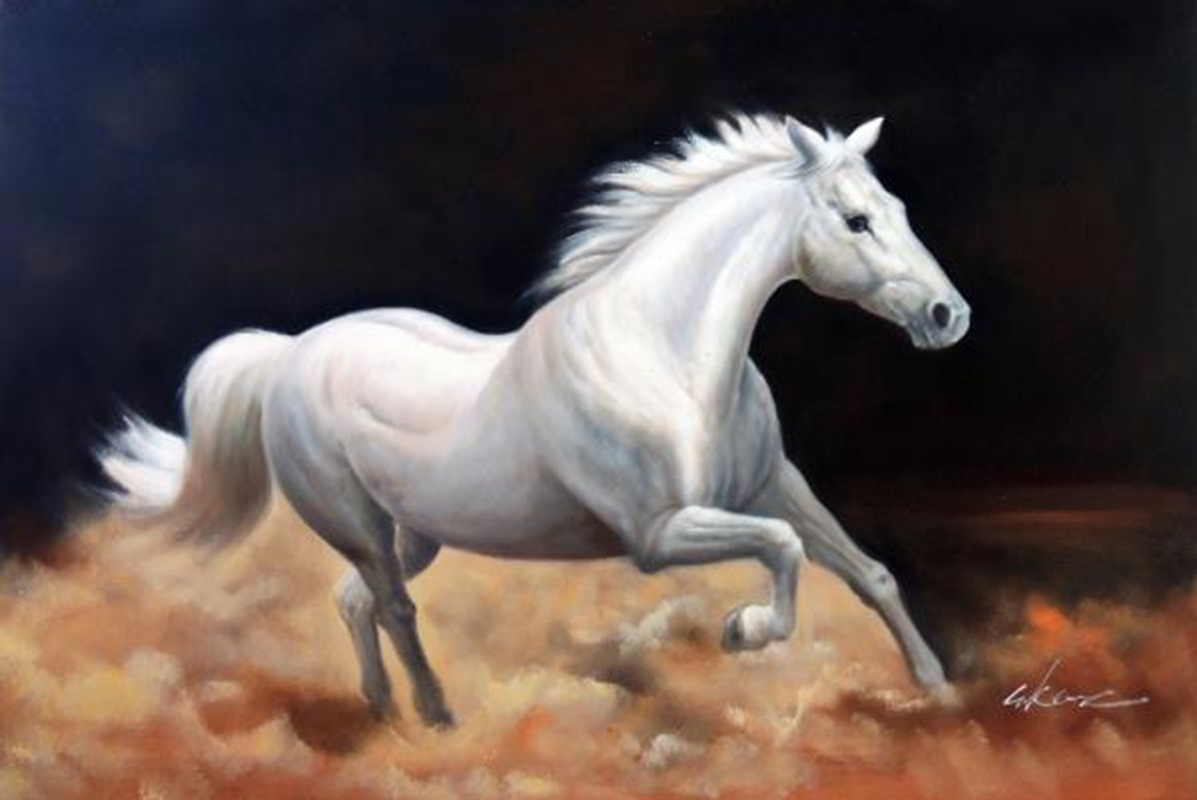 Discount Running Horses Painting Pictures Hd Running Horses Painting Pictures Hd 2020 On Sale At Dhgate Com