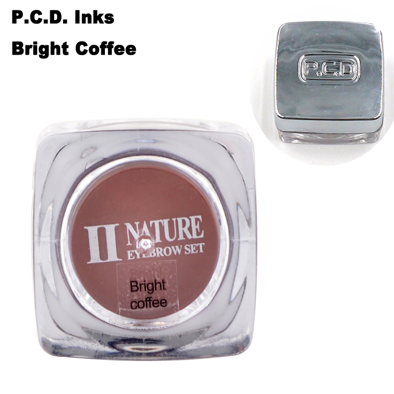 PCD-Bright-Coffee-Paint-Professional-Eyebrow-Micro-Tattoo-Ink-Set-Lips-Microblading-Permanent-Makeup-Pigment-Colorfastness-Bright-coffee