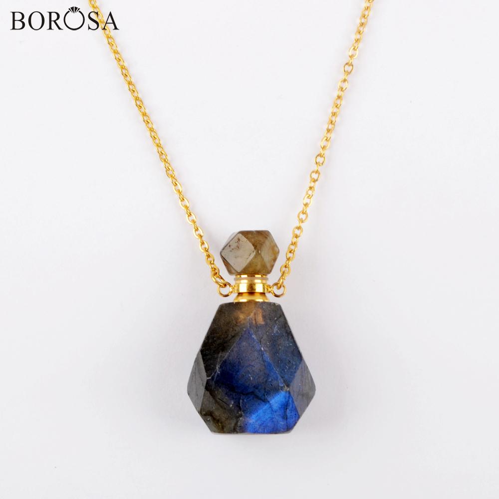Bleu clair naturel solaire quartz plaqué or connecteur Bijoux @ LIVRAISON GRATUITE