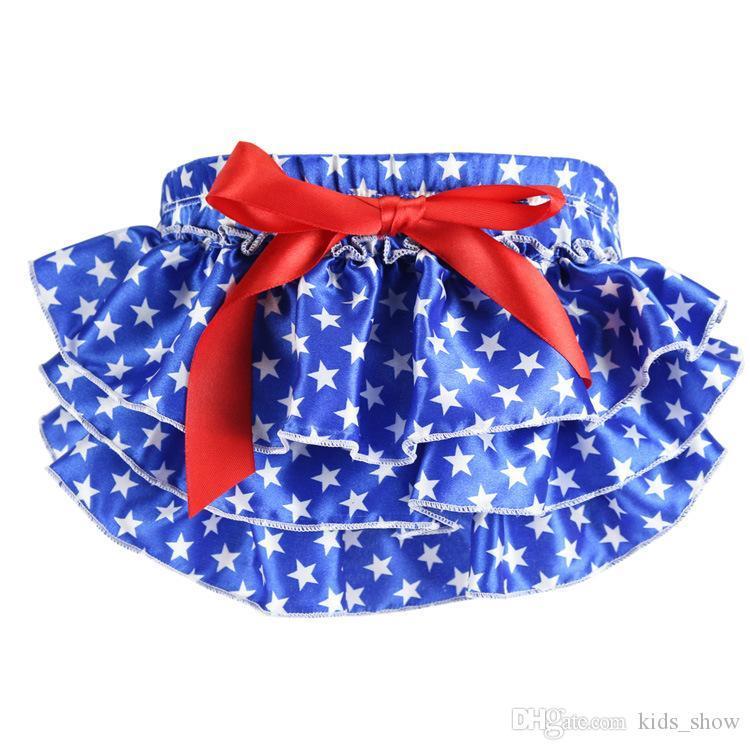 Baby Girls Bloomers Pettiskirt TUTU Underwear Panties Toddle Kids Underpants Infant Newborn Ruffled Satin PP Pants