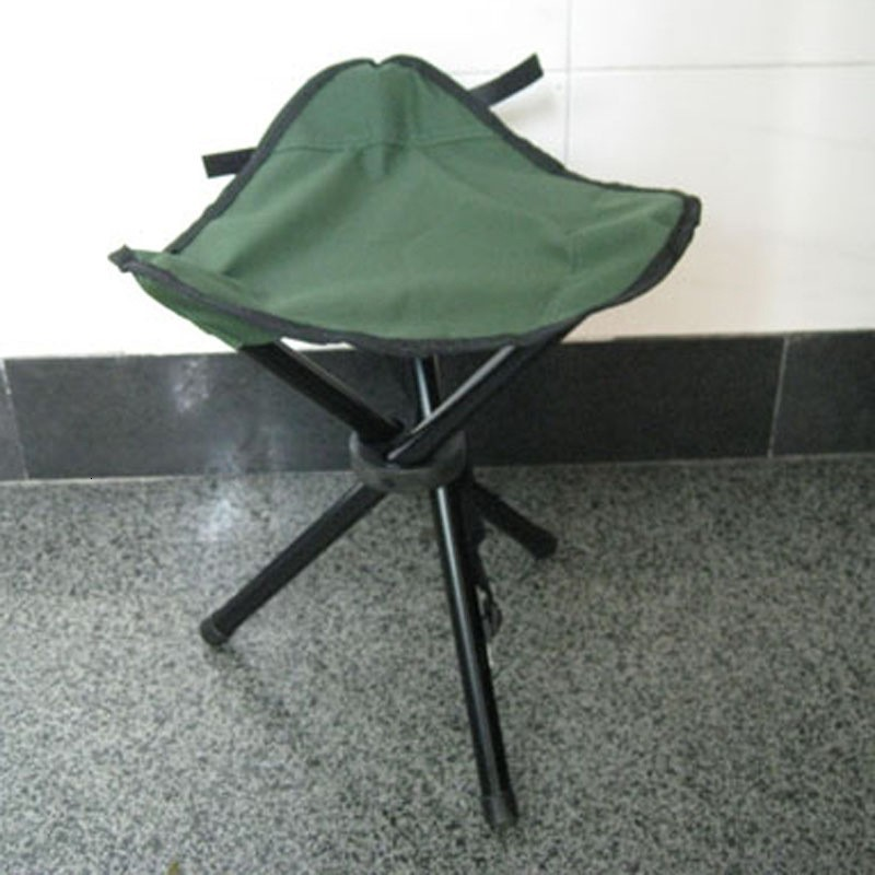 Three Legged Stool For Outdootr Camping Hiking Folding Chair Seat Easy To Carry Thicken Fishing Stools Factory Direct Sale 9at B