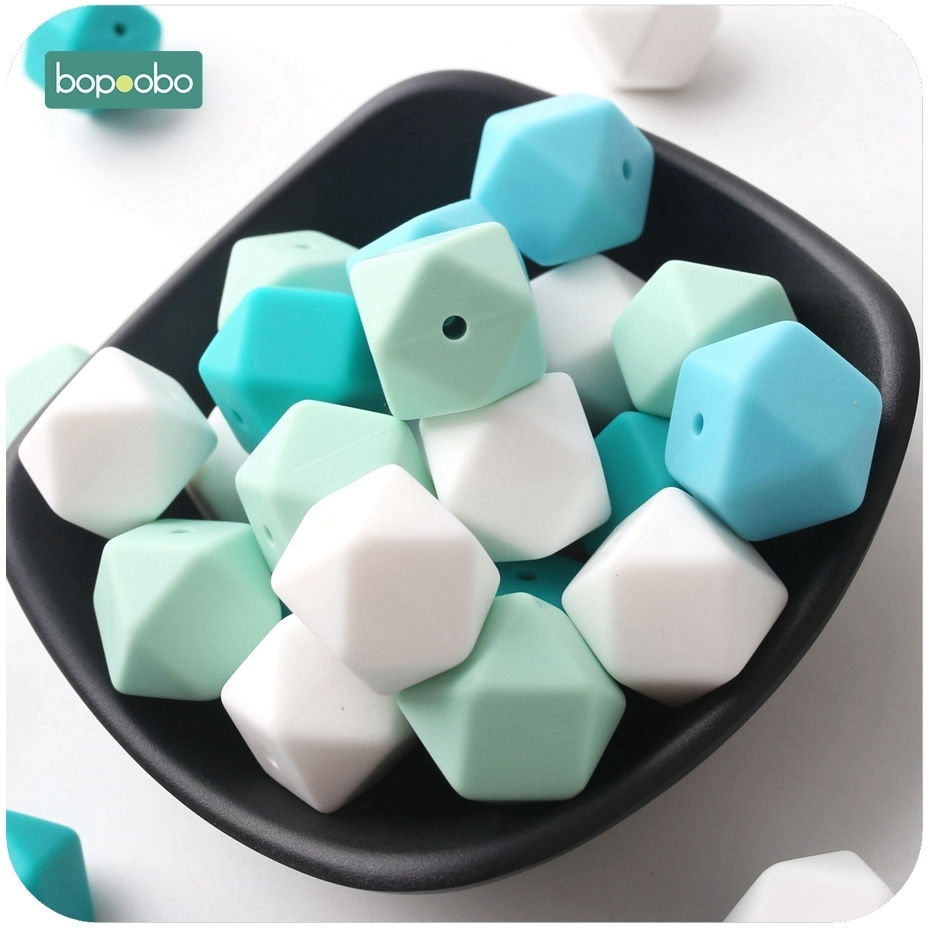 silicone necklace beads
