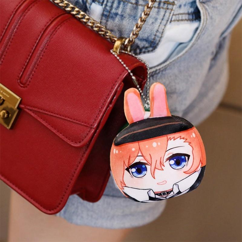 Anime Bag Pendant Bungou Stray Dogs Atsushi Acrylic Bag Pendants Keychain Pendant Key Rings