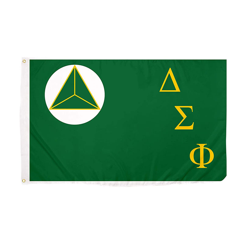 Delta Sigma Phi Chapter Fraternity Flag 3x5 ft 100D Polyester Digital Printing Indoor Outdoor Use Hanging , free shipping