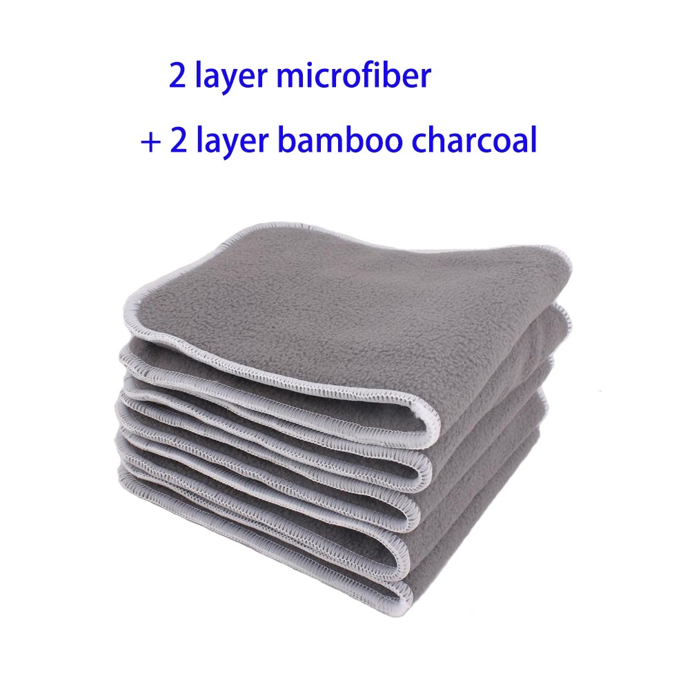 2layer mircorfiber + 2layer charcoal