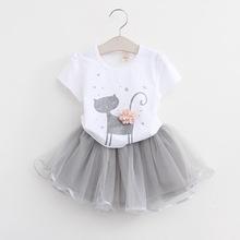 Girls-Clothing-Sets--Brand-Girls-Clothes-White-Cartoon-Short-Sleeve-T-Shirt-Veil-Dress-2Pcs.jpg_220x220