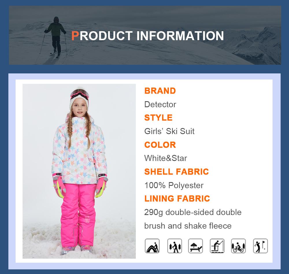 kids ski jacket girls