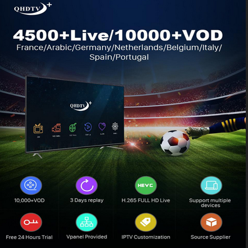 Watch 10000 TV programs VOD m 3 u Android smart TV in Europe (exclusive from Portugal)