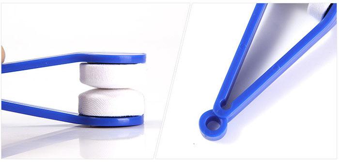 Eye Glass Cleaner Microfiber Plastic Brush Sunglasses Lens Cleaning Wipes Tools Multifunction Portable Brush Random Color Wholesale