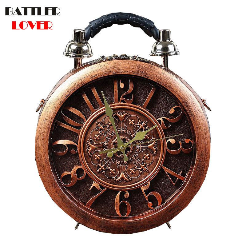 New Creative Alarm Clock Pack Craft Watch Bag Womens Handbag Shoulder Bag Fashion Women