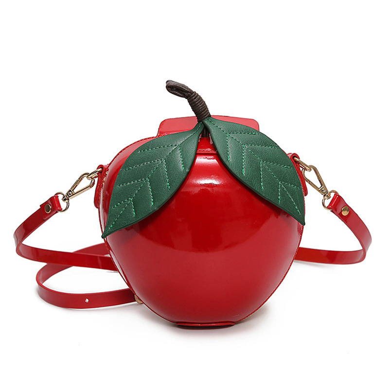 Women Fruit Cherry Bag Bolsa Feminina Handbag Luxury Designer Casual Messager Bags Fashion PU Leather Shoulder Bolsas Clutch Bag