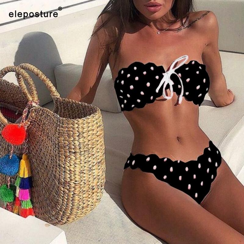 Sexy-Polka-Dot-Bikini-Women-2019-Two-Piece-Swimsuit-Push-Up-Swimwear-Floral-Side-Bathing-Suit (2)