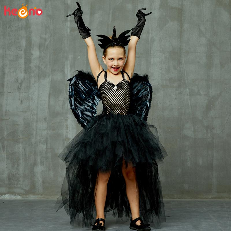 Desconto Fantasias De Halloween Anjo Negro 2020 Fantasias De Halloween Anjo Negro ŕ Venda A Pt Dhgate Com