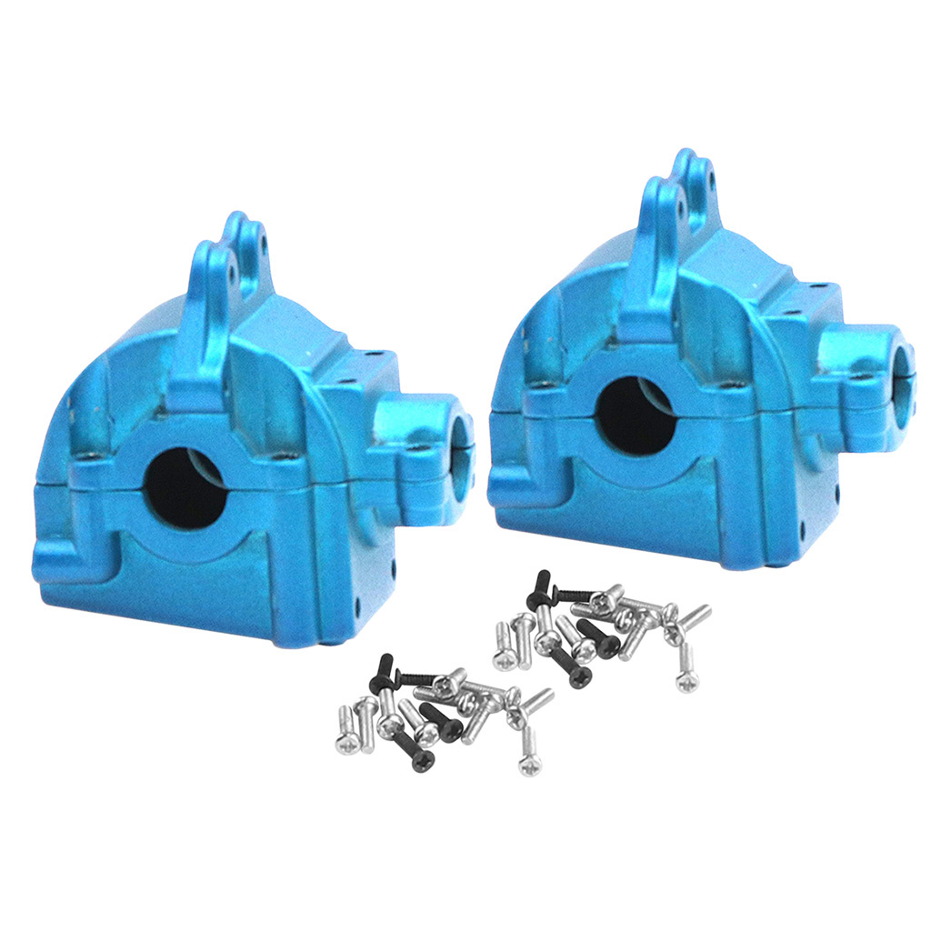 RC Metal Upper Lower Gearbox Housing Differential Gear for WLTOYS 144001 1/14 RC Car Buggy Upgrade Parts