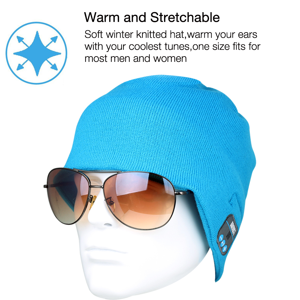 August EPA20L Knitted Warm Winter Bluetooth Cap