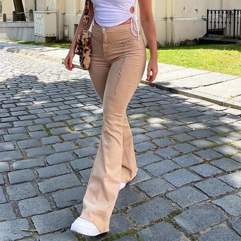 Khaki-Jeans