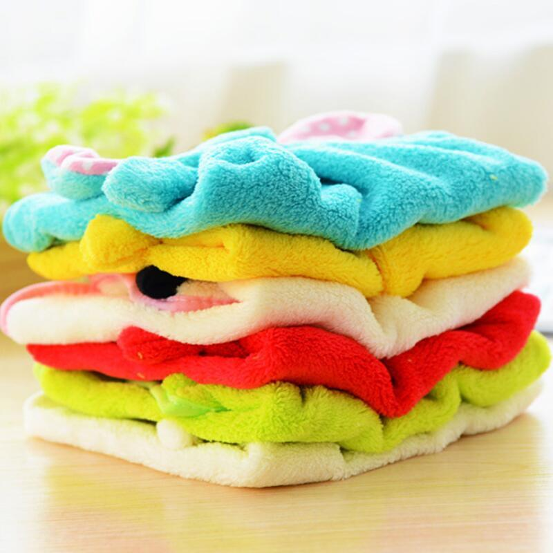 Hand Towel Hanging Kitchen Bathroom Indoor Thick Soft Cloth Wipe Towel Cotton Dish Cloth Clean Towel Accessories