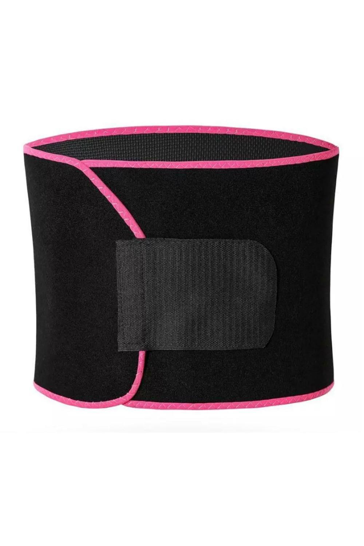 US STOCK Fitness Waist Trimmer Shape Belt Belly Tightening Weightloss Slimming Sheath Corset Waist Trainer Body Shaper Tummy FY8053