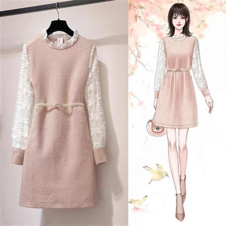 Discount Cute Korean Winter Dresses Cute Korean Winter Dresses 2020 On Sale At Dhgate Com