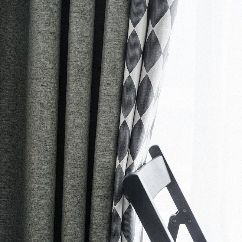 Wholesale Gray And White Blackout Curtains Buy Cheap In Bulk From China Suppliers With Coupon Dhgate Black Friday