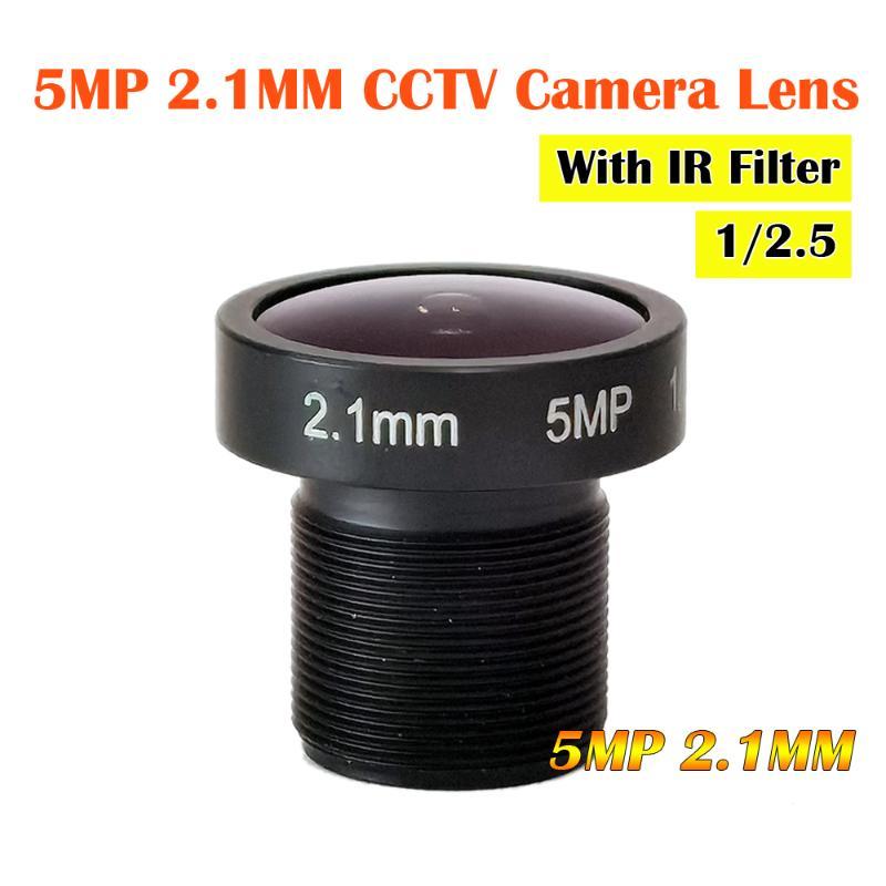 """2pcs mini 3.7mm lens CCTV IR MTV M12*0.5 lenses for 1//3/"""" 1//4/"""" CCD Camera"""