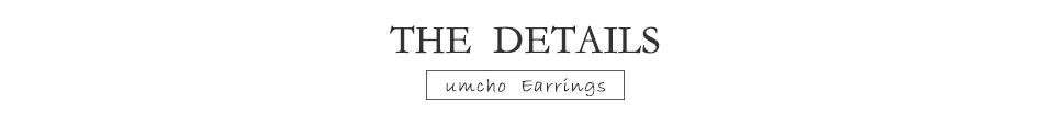 UMCHO Emerald 925 sterling silver earring for women EUJ094E-1-pc (6)