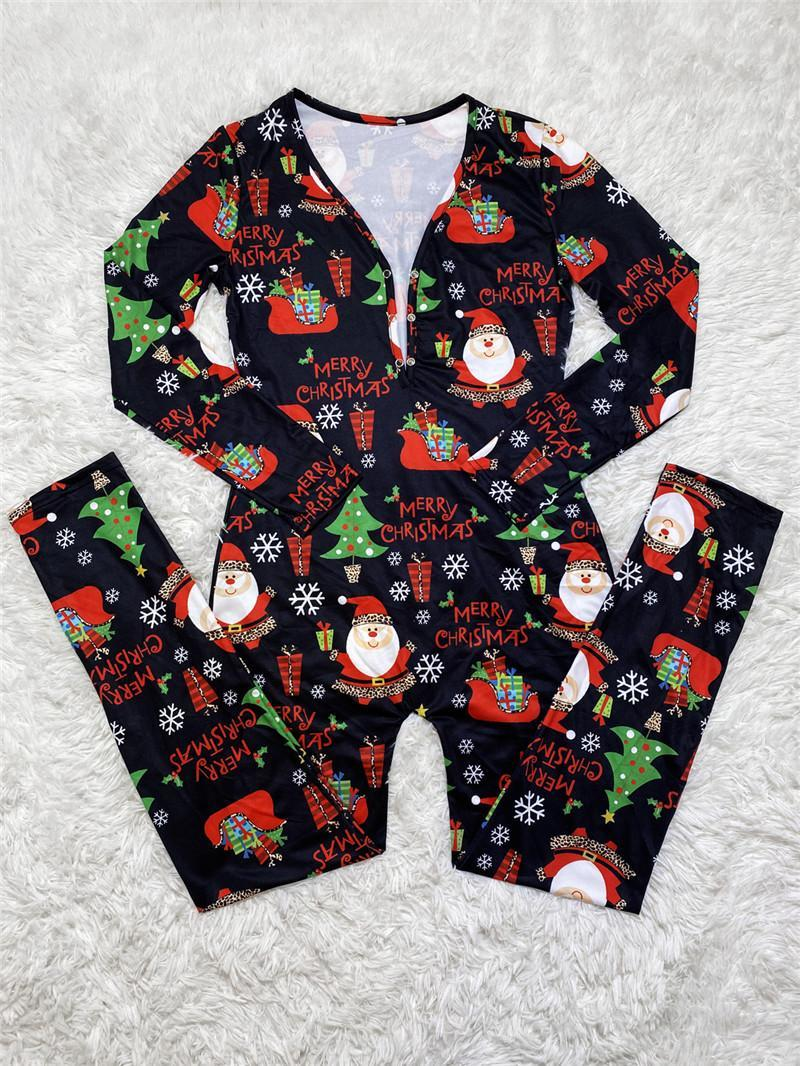 Christma jumpsuit long sleeve rompers one piece set elegant fashion skinny jumpsuit pullover comfortable clubwear women clothing hot klw5330