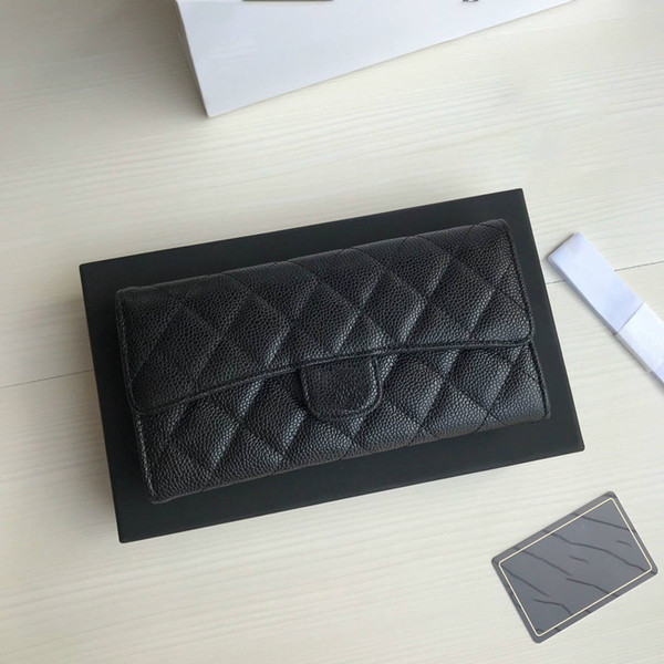 hot best quality genuinel leather mens wallet with box luxurys designers wallet womens wallet purese credit card holder passport holder 189