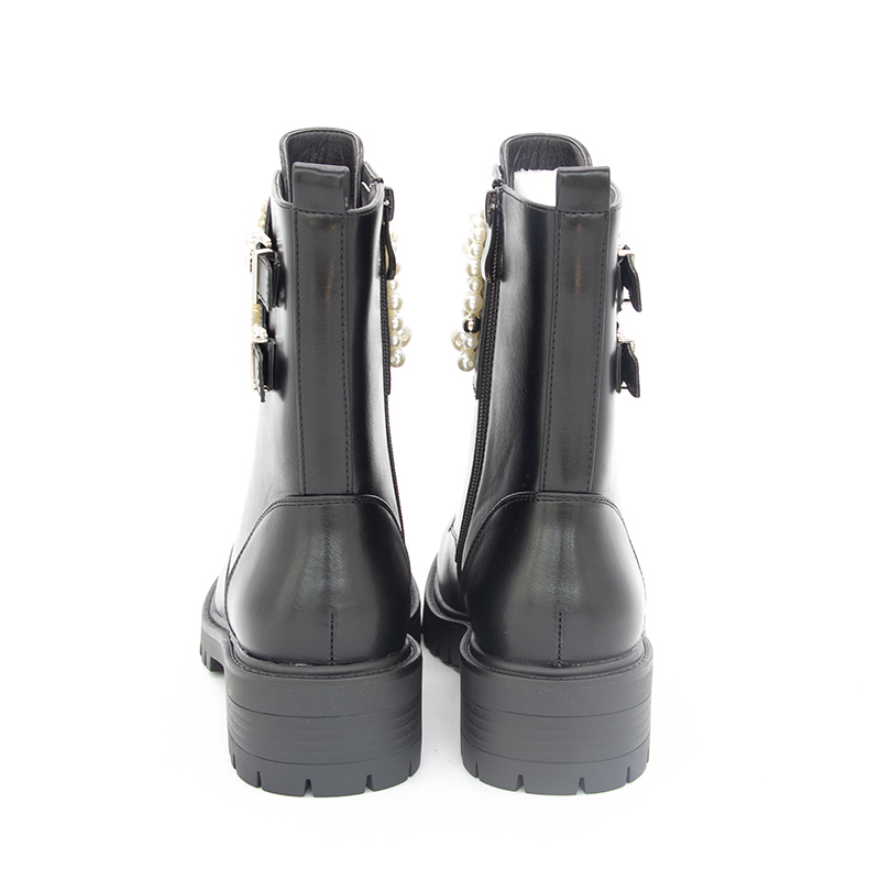 GOGD-Winter-Women-Bead-Flat-Zipper-Ankle-Boots-Pearl-Round-Toe-with-Decoration (1)