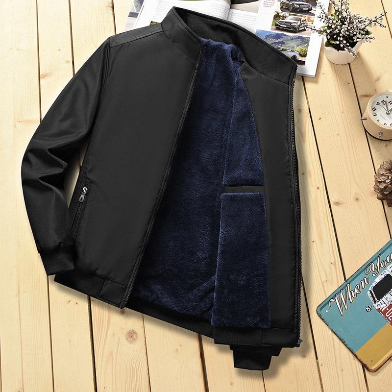 dark blue thicken jacket
