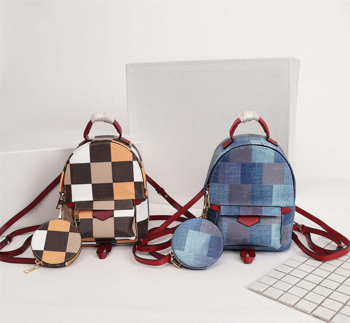 women luxurys designers bags 2020 Fashion Mini Backpack leather children women