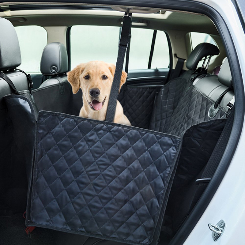 Pet Car Seat Covers For Big Dogs Waterproof Back Bench Seat Car Interior Travel Accessories Dog Carriers Car Seat Covers Mat