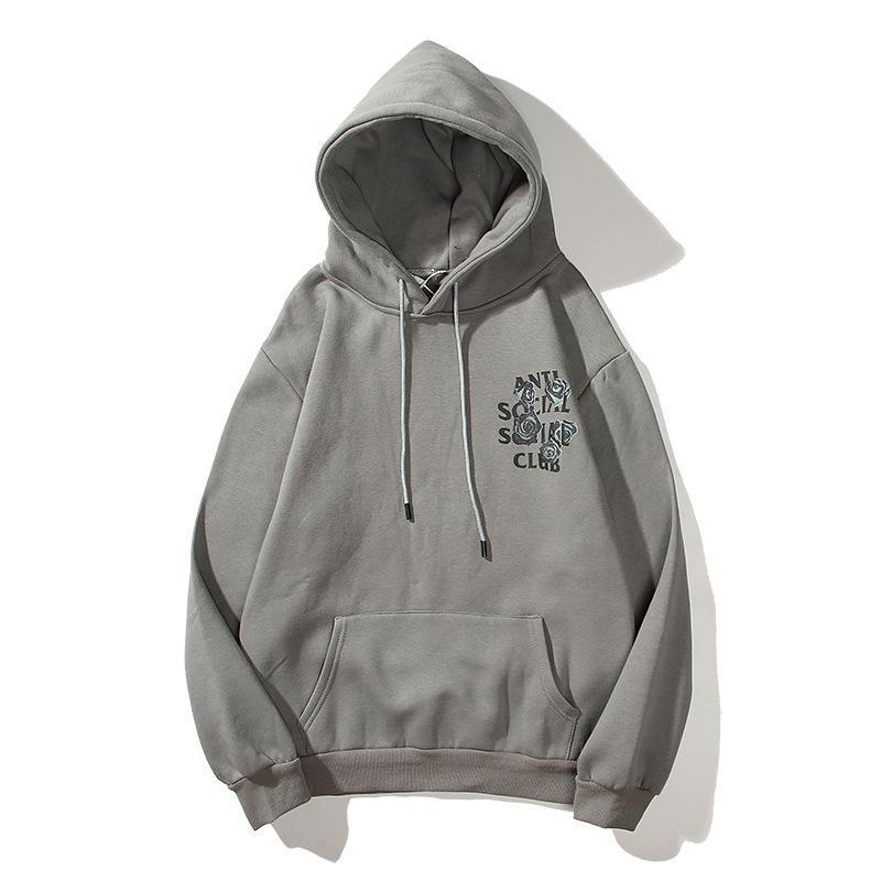 Mens Designer Hoodies Autumn Winter Unisex Mens Sweatshirts Brand Tide Sweater Pullover Cotton Designer Hip Hop Hooded Hoodies Lovers S-2XL