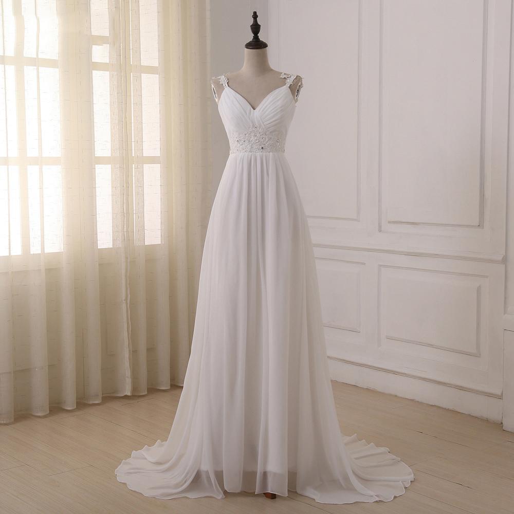 Jiayigong-Beach-Wedding-Dress-vestido-de-noiva-In-Stock-Plus-Size-Spaghetti-Straps-Beading-Chiffon-Wedding