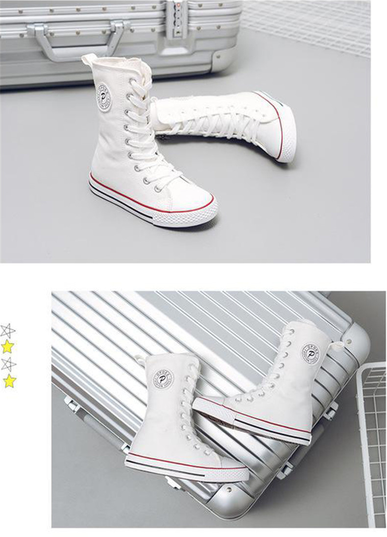 PINSEN 2019 Spring Autumn Shoes Girls Boots Cancas Childen Shoes For Girl Breathable Kids Boots For Girls Fashion Boots (13)