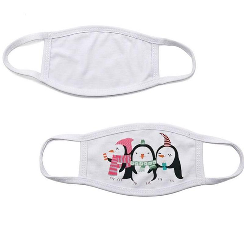 Blanks Sublimation Face Mask Adults Kids Double Layers Dust Prevention Mask For DIY Heat transfer Print Face Covers Designer Masks