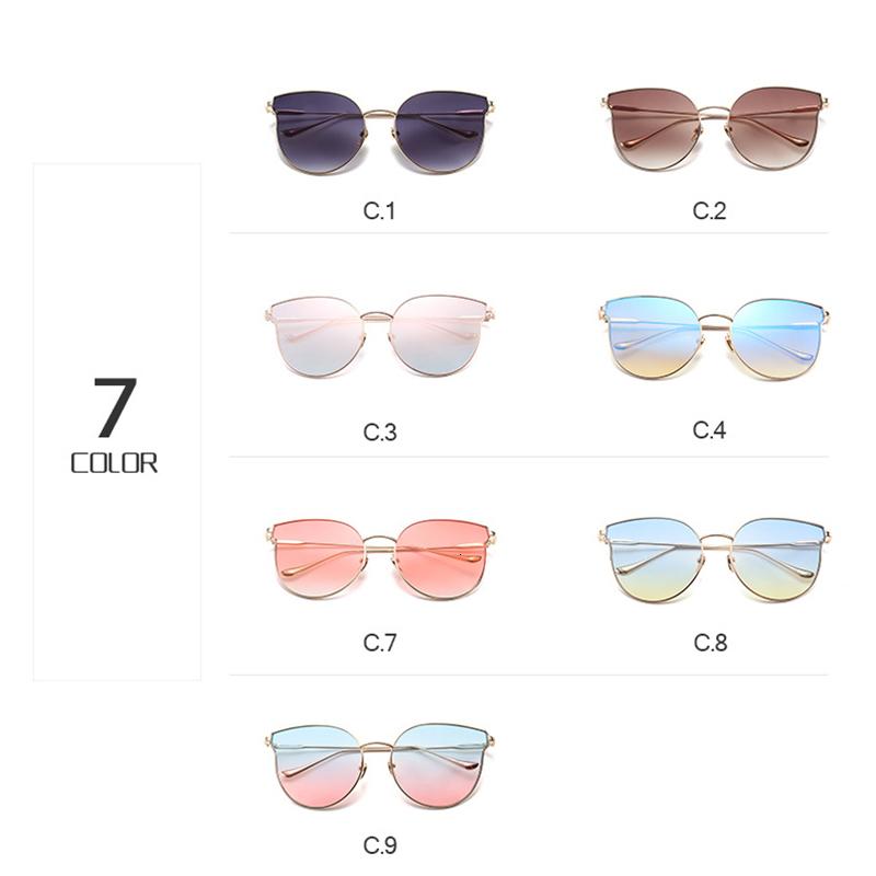 gold frame clear lens glasses (4)