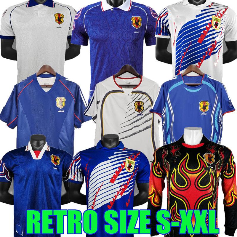 1994 1998 2002 2006 world cup japan retro soccer jerseys 06 07 NAKAMURA NAKATA INAMOTO MIYAMOTO classic vintage GOALKEEPER football shirts