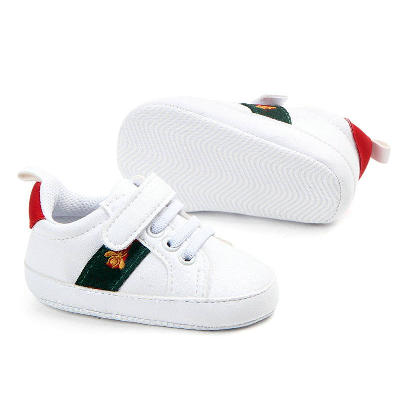 Newborn Baby Shoes Boys First Walkers Shoes Infants soft bottom Anti-skid Prewalker Sneakers 0-18 Months Gift. Free shipping